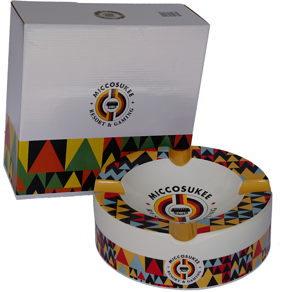 Miccosukee Cigar Ashtray - Big Seduction (10