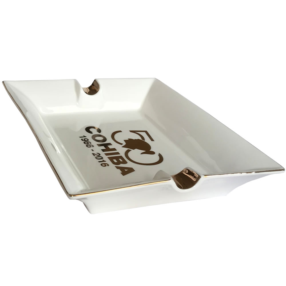 Cuban Extravaganza Collection - Cohiba 50 Anniversary Cigar Ashtray - Platter -