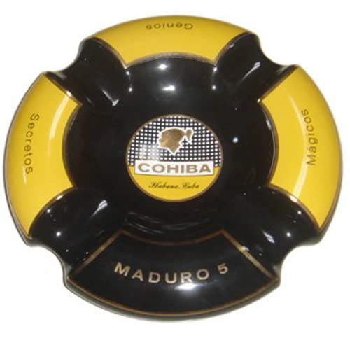 Cuban Extravaganza Collection - Cohiba Black Maduro Ashtray - 9